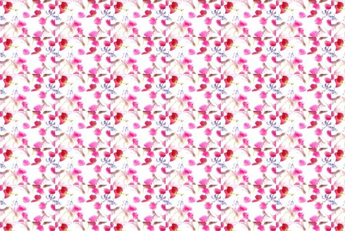 Vinylová Tapeta Růžové okvětní lístky - Roční období