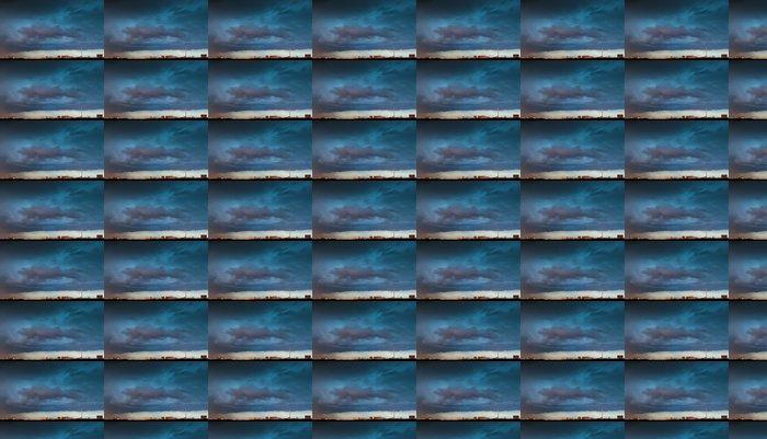 Vinylová Tapeta Bouřkové mraky nad městem - Témata