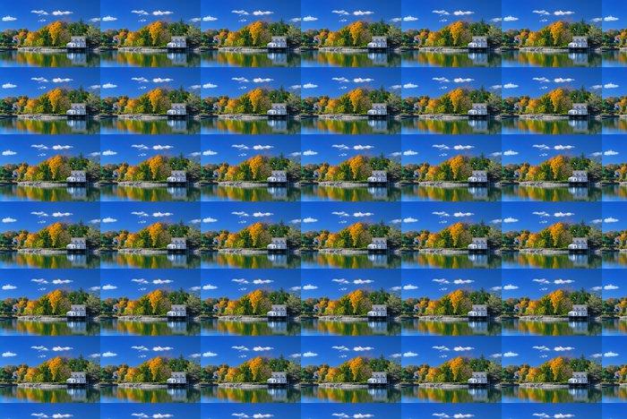Vinylová Tapeta Barvy babího léta, Maine - Amerika