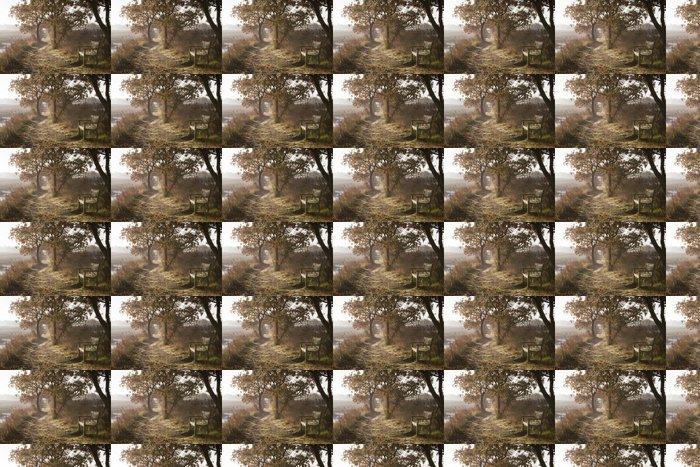 Vinylová Tapeta Dawn podél řeky Blyth, Suffolk, Anglie - Roční období