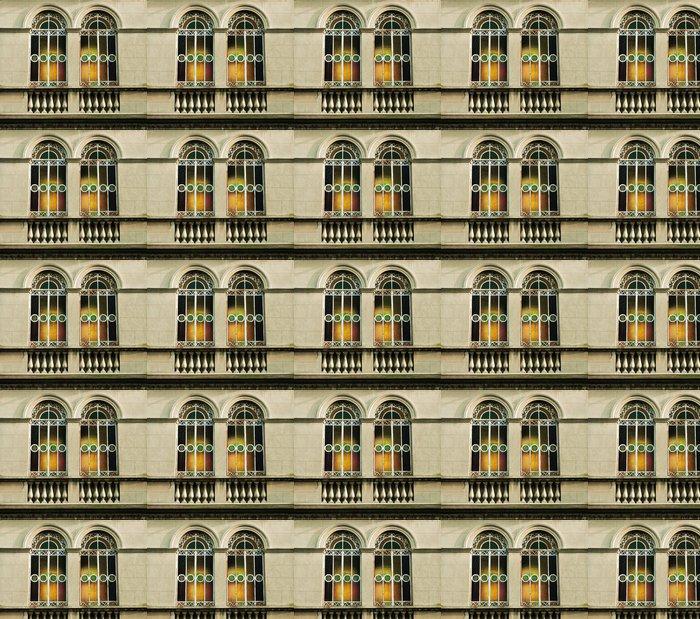 Vinylová Tapeta Okno Liberty s duhovými odlesky z barevného skla - Soukromé budovy