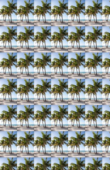 Vinylová Tapeta Palme am Meeresstrand II - Prázdniny
