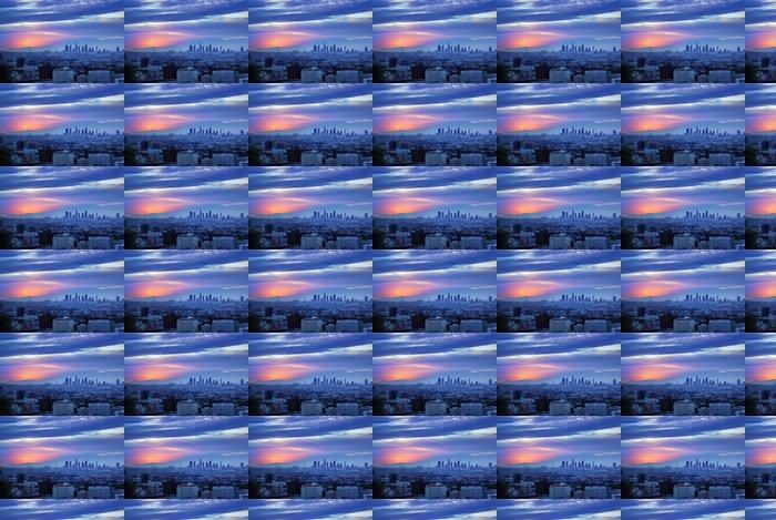 Vinylová Tapeta Los Angeles svítání panorama - Témata