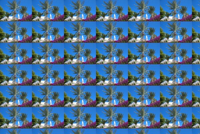 Vinylová Tapeta Canary Island zvonice a Palm Trees - Rostliny