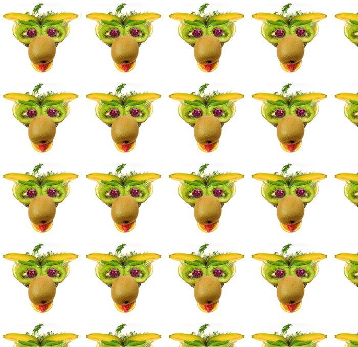 Papier Peint à Motifs Vinyle Mucca fruttosa - Fruits