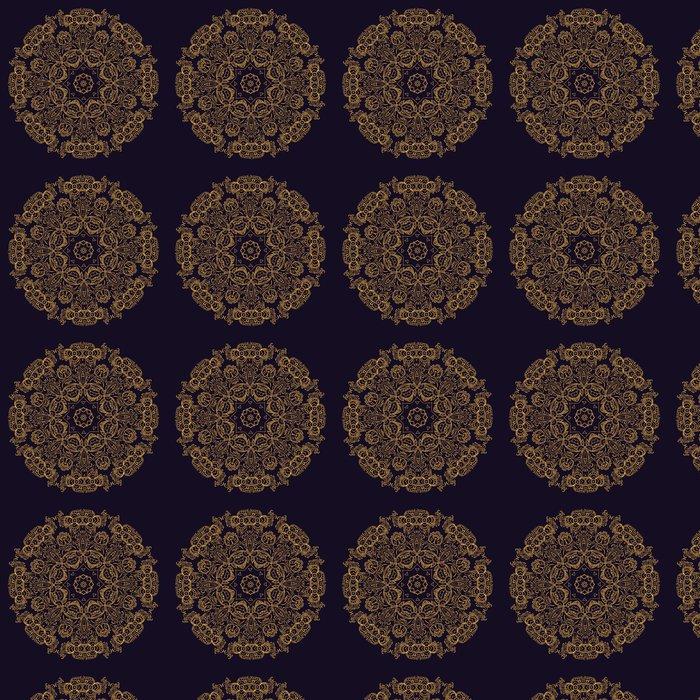 Vinylová Tapeta Gold indická mandala - Styly