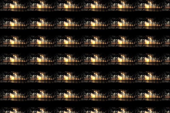 Vinylová Tapeta Pár se těší tropické slunce na pobřeží Kona - Amerika