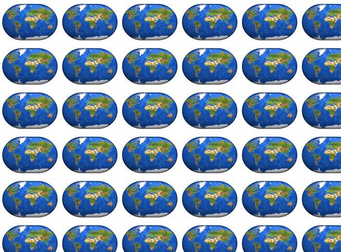 Vinylová Tapeta 3D Mapa Mundi - Situace v podnikání