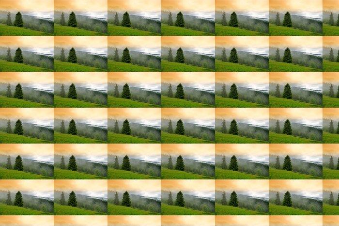 Vinylová Tapeta Horská krajina - Hory