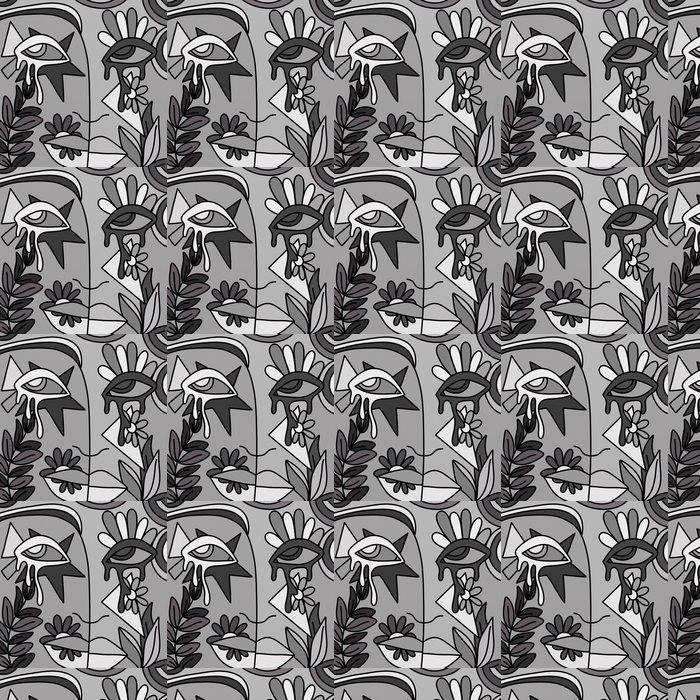 Vinylová Tapeta Abstrakt šedá - Jiné pocity