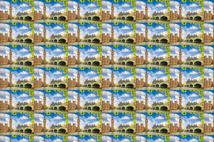 Vinylová Tapeta Big Ben - Londýn - Evropská města