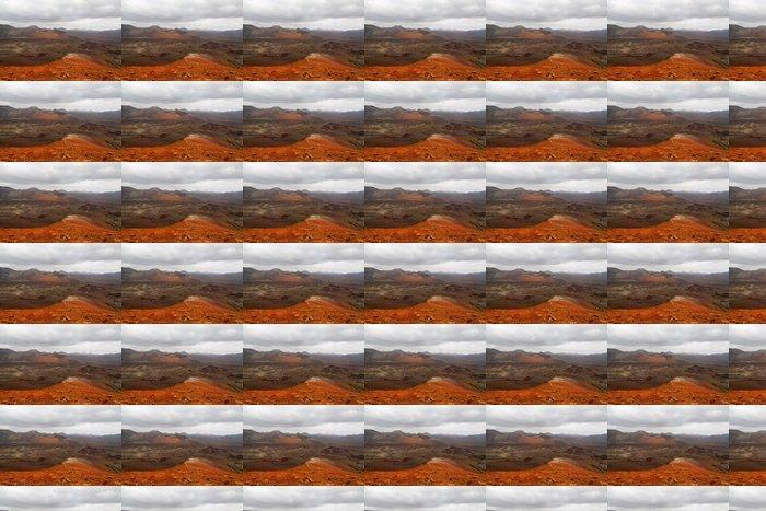 Vinylová Tapeta Dramatický výhled Timanfaya národního parku - Evropa