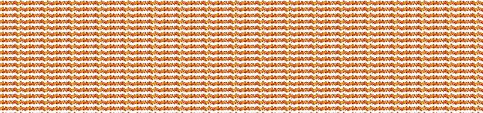 Vinylová Tapeta Vektor horizontální pozadí s dýně a podzimní listí - Roční období