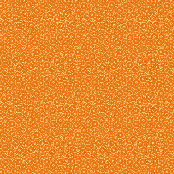 Vinylová Tapeta Oranžová, citrusů, pomerančový. Bezešvé textury. vektorové ilustrace - Struktury