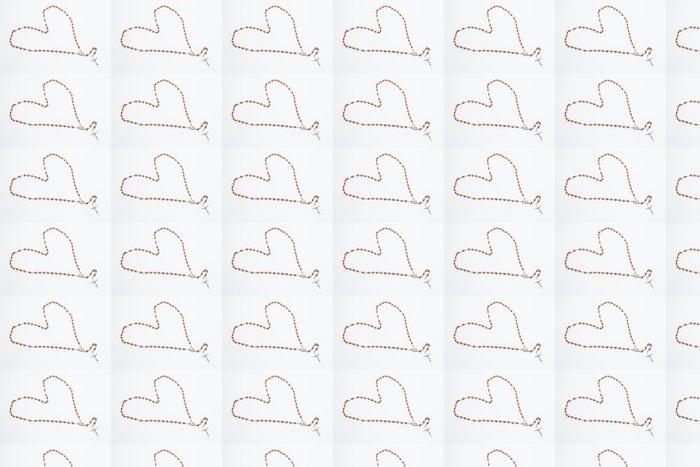 Vinylová Tapeta Růženec ve tvaru srdce - Náboženství
