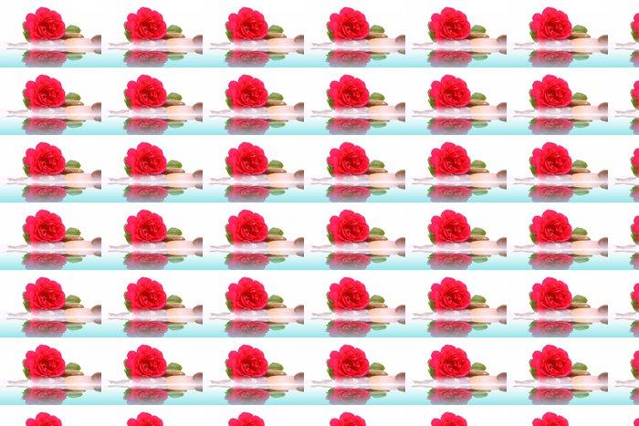 Vinylová Tapeta Wasser, růže - Životní styl, péče o tělo a krása
