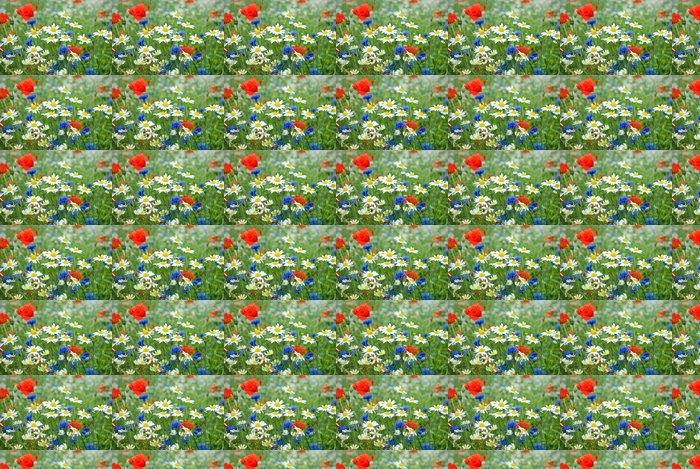 Vinylová Tapeta Květiny wildflower louka -