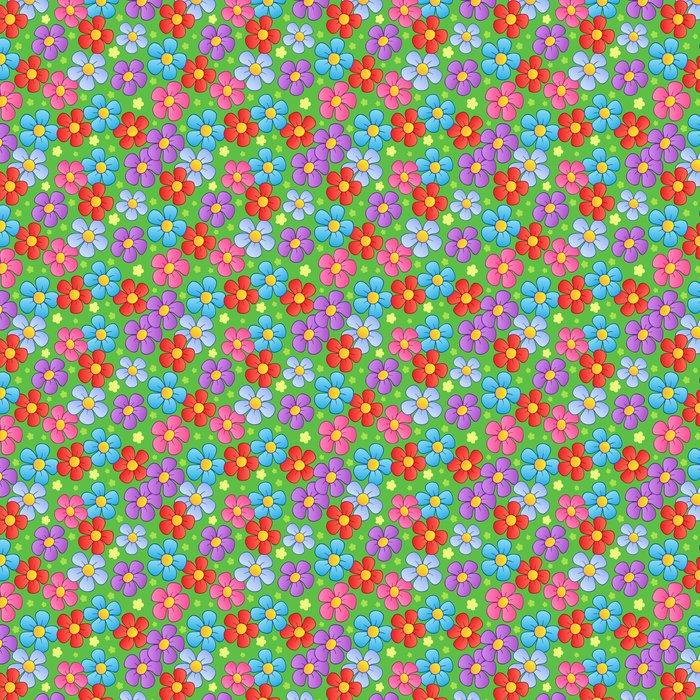 Vinylová Tapeta Květinová bezešvé pozadí 1 - Struktury
