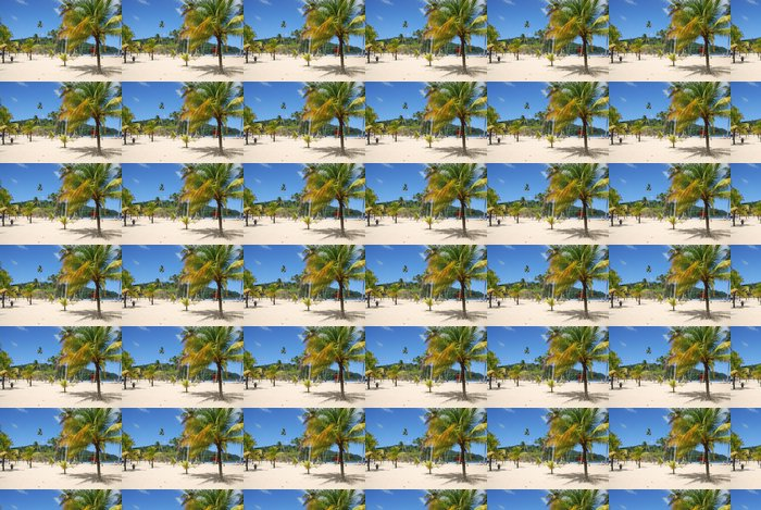 Vinylová Tapeta Traumstrand auf trinidad - Prázdniny
