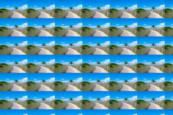 Vinylová Tapeta Sandy cesta do ráje - Roční období