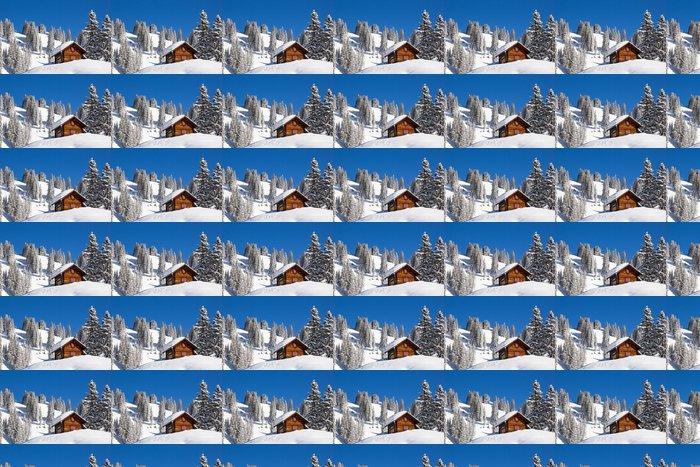 Vinylová Tapeta Zimní krajina - Evropa