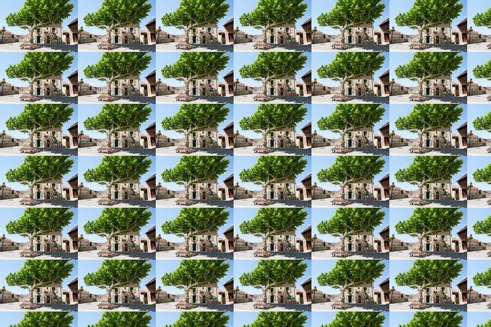 Vinylová Tapeta Idylické square ve francouzské Provence - Město