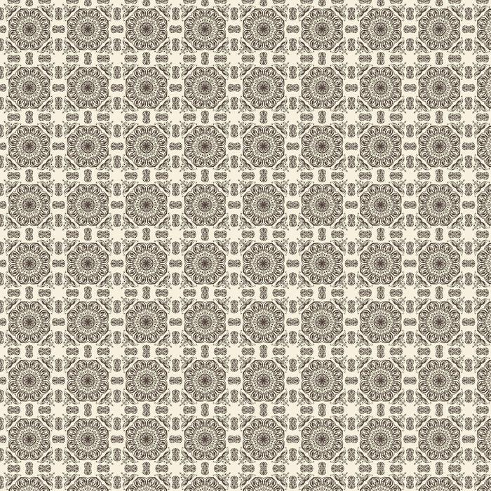 Vector seamless floral vintage pattern Vinyl Wallpaper - Backgrounds