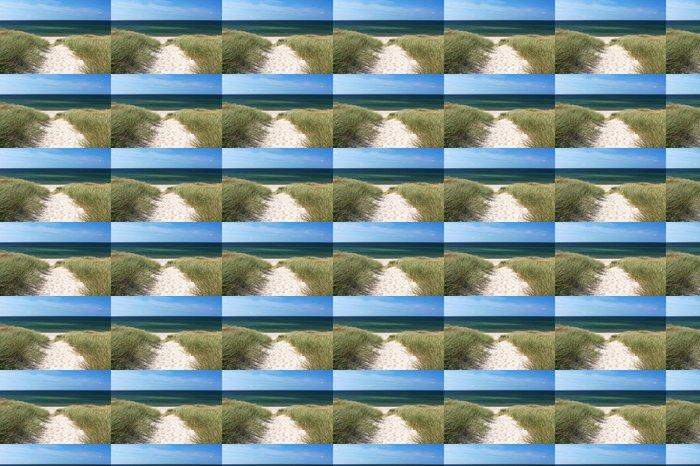 Vinylová Tapeta Cesta na pláž přes duny v Kampen na ostrově Sylt - Německo