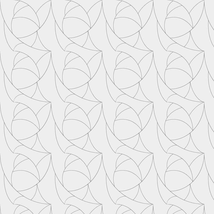 Papel pintado est ndar modelo geom trico blanco y negro - Papel pintado minimalista ...