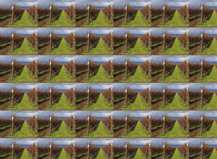 Vinylová Tapeta Chianti kopce při západu slunce v Toskánsku - Roční období