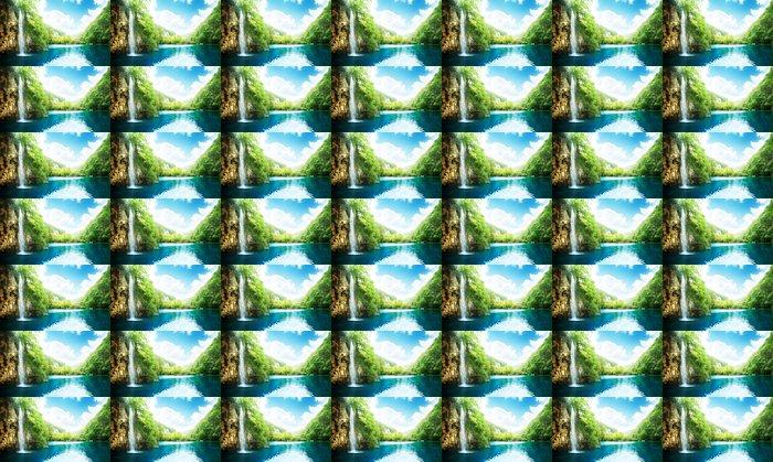 Vinylová Tapeta Vodopád v hlubokém lese - Témata