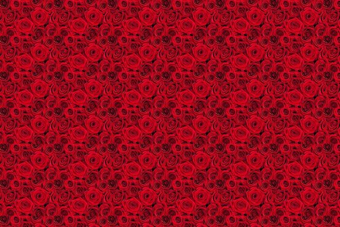 Vinylová Tapeta Red roses - Pozadí