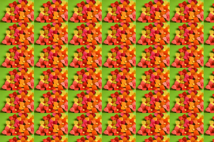 Vinylová Tapeta Origami květiny - Struktury