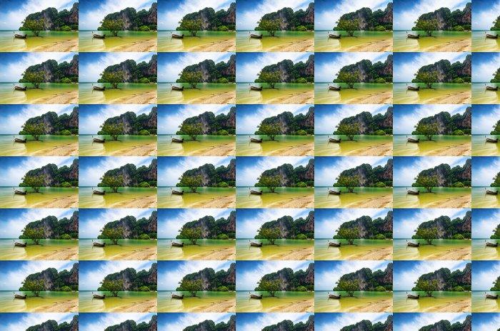 Vinylová Tapeta Čistá voda a modrá obloha - Voda
