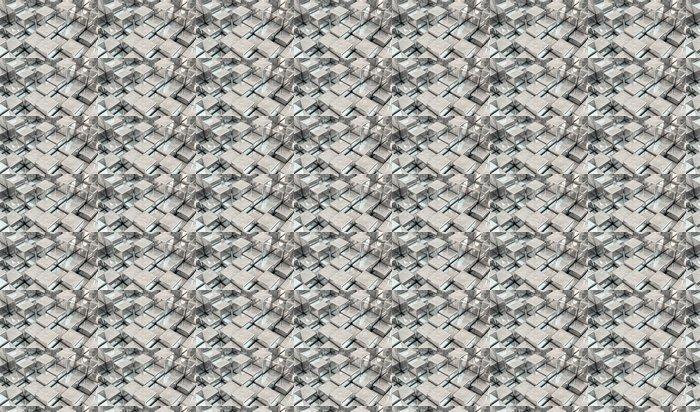 Vinylová Tapeta Kovové kostky v 3d - Prvky podnikání