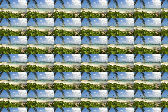 Vinylová Tapeta Tropical Resort Beach - Mír