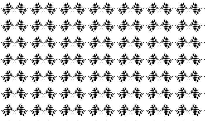 Vinylová Tapeta Závod flag - Značky a symboly