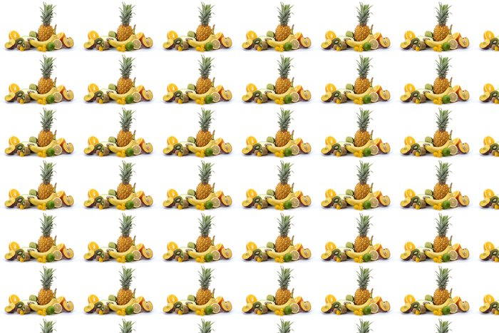 Vinylová Tapeta Plateau ovoce exotiques - Ovoce