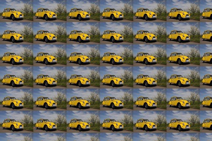 Vinylová Tapeta Citroën 2CV - Na cestě