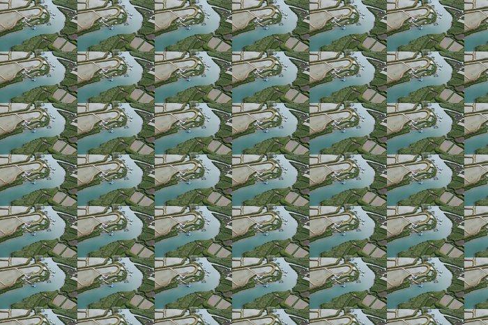 Vinylová Tapeta Marais Salants et parcs Huitres du Pays de Marennes (17) - Ostatní Ostatní
