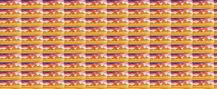 Vinylová Tapeta Velká pyramida se nachází v Gíze. - Památky