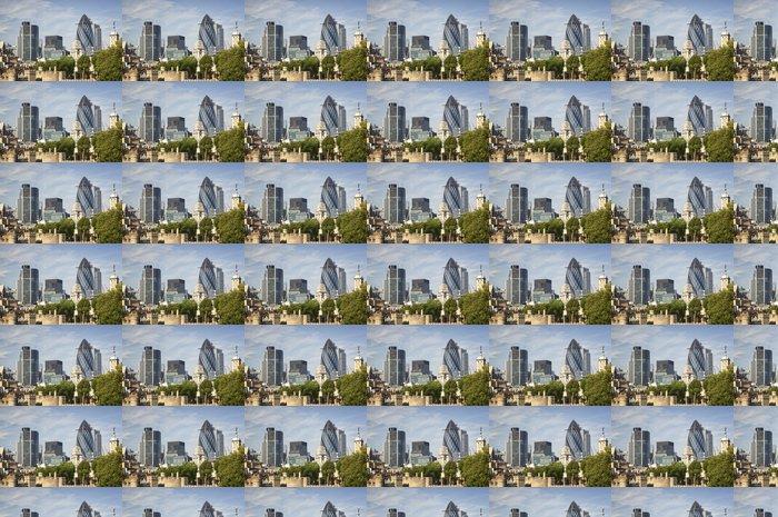Vinylová Tapeta Architektonické kompozice v Londýně - Soukromé budovy