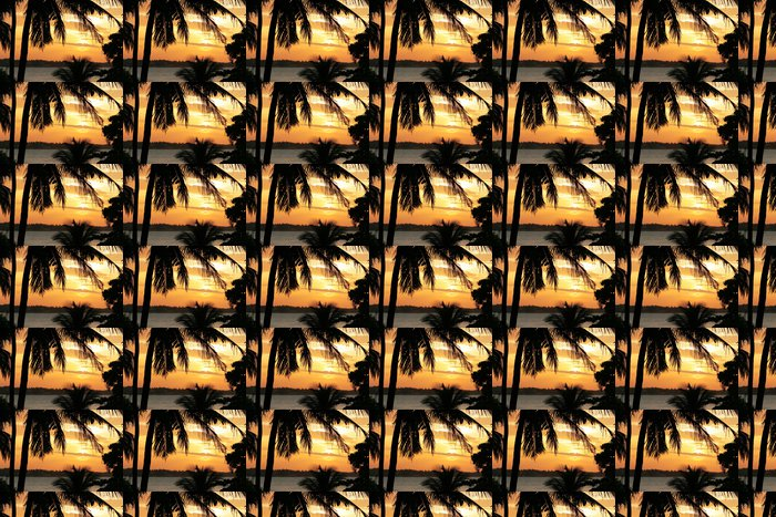 Vinylová Tapeta Sunset1 - Amerika