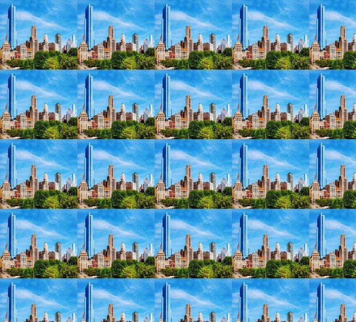 Vinylová Tapeta Downtown Chicago, IL v dopoledních hodinách - Amerika