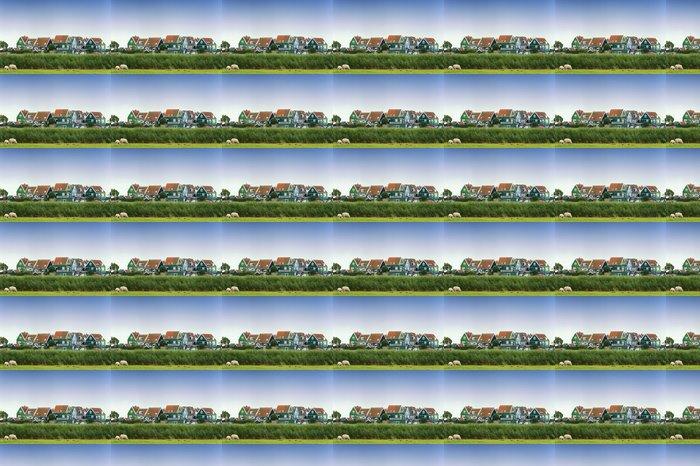 Vinylová Tapeta Barevné staré domy v Marken, Nizozemsko - Evropská města