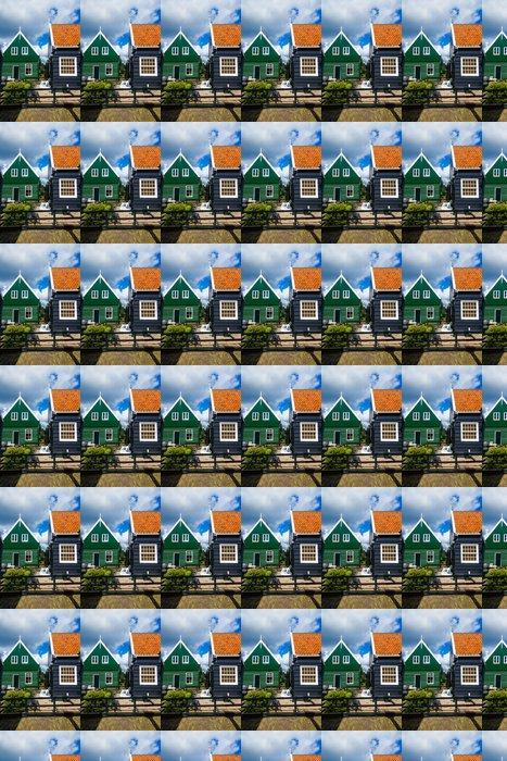 Vinylová Tapeta Typické holandské domy - Těžký průmysl