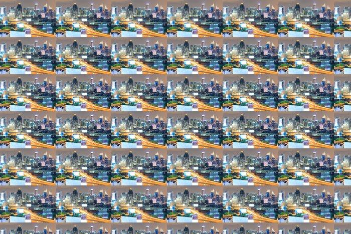 Vinylová Tapeta V centru města Bangkok a dálnice - Na cestě