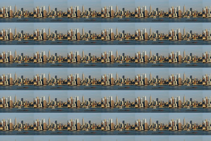 Vinylová Tapeta Manhattan New York City skyline - Amerika
