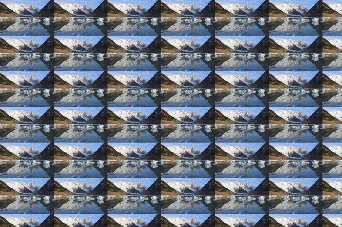 Vinyltapete Cerro Torre Berg. Los Glaciares Nationalpark. - Amerika