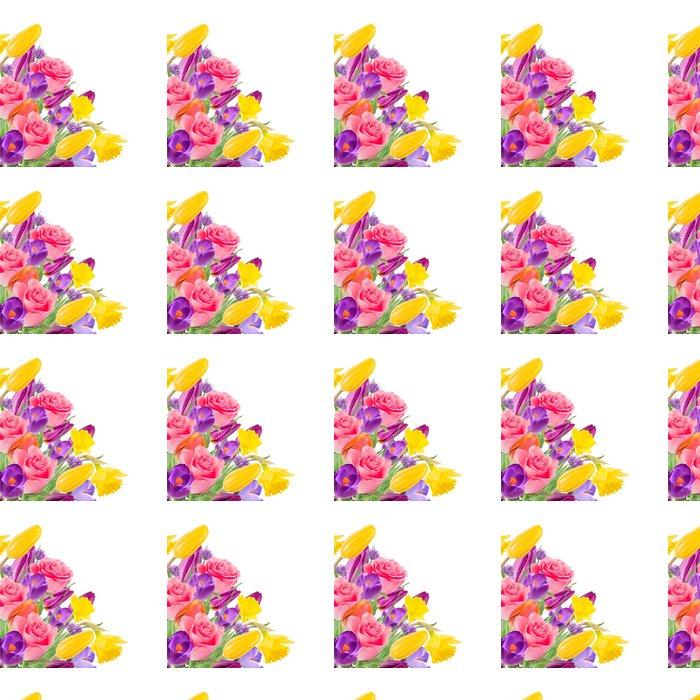 Vinylová Tapeta Krásnou kytici květin - Imaginární zvířata